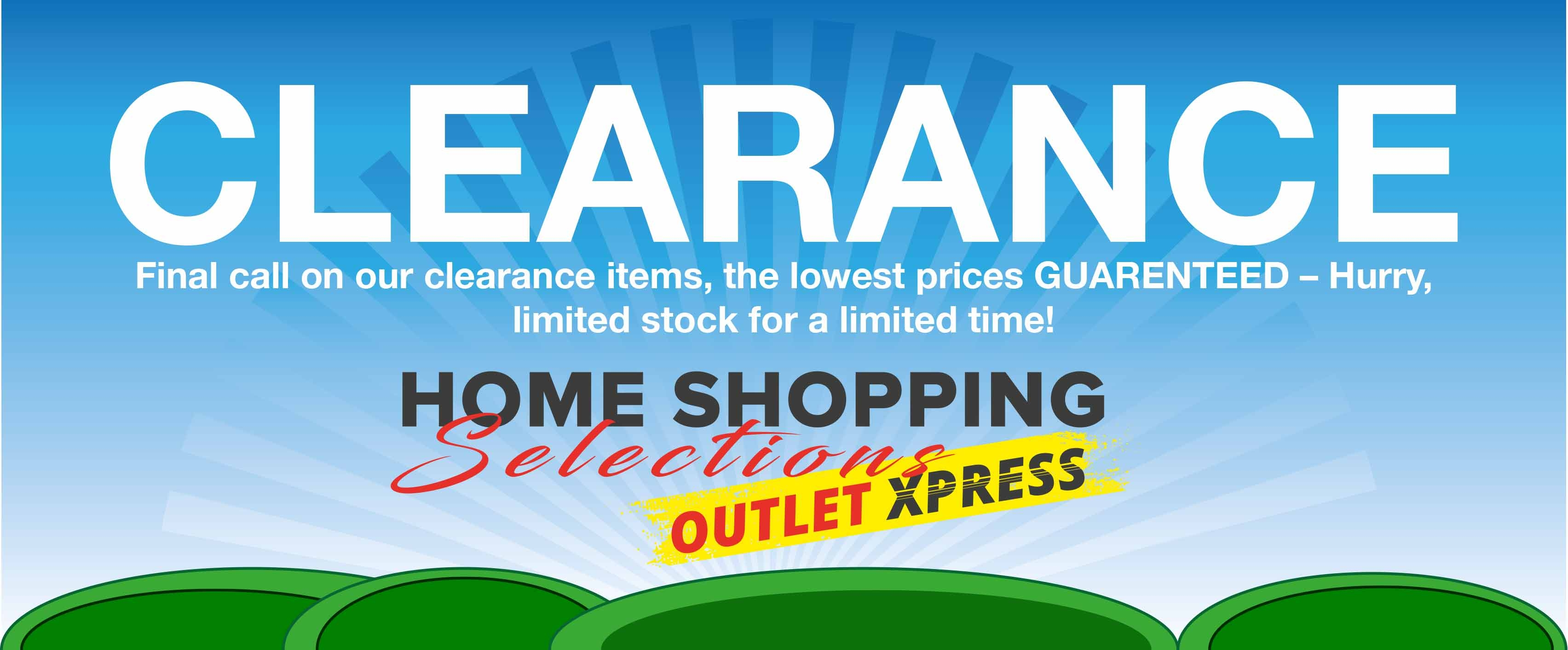 Outlet Xpress Clearance