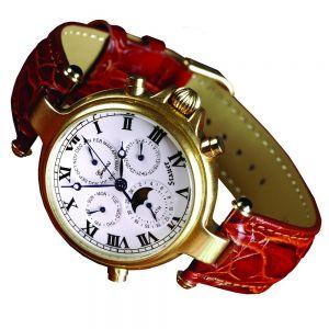 Stauer Gold Plated Graves '33 Wristwatch
