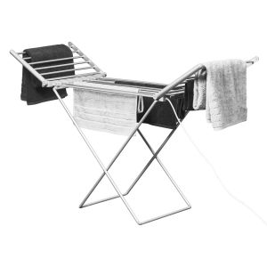 Winged Heated Clothes Airer